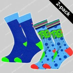 MuchaMalo Nederland 2-pack Socks Extreme