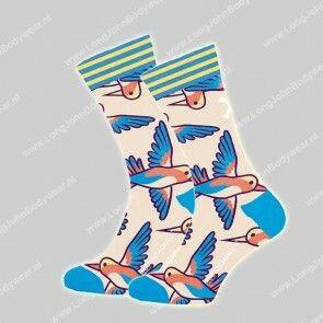 MuchaMalo Nederland Singel-pack Sock Bird