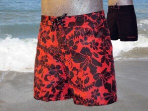 Calvin Klein Swim Reversable Flower Short