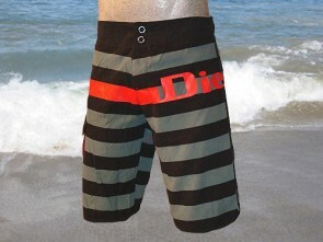Diesel Swim Deck Stripe Surf-Short