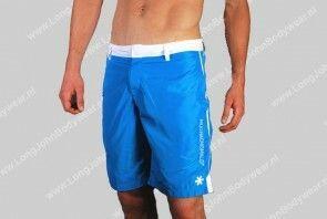 Muchacho Malo Swim Long BoardShort Solid