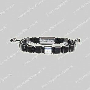 AlphaGems Nederland Bracelet Square-Beads