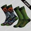 MuchachoMalo 2-pack Socks Back to Basic