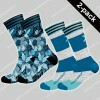 MuchachoMalo 2-pack Socks Extinct Plants